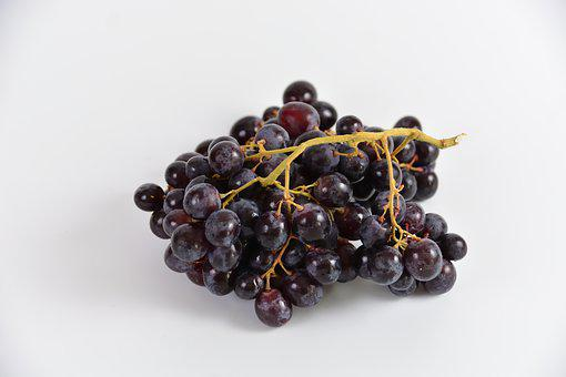 Black Grapes, Power, Fruit, Eat, Healthy Eating