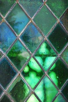Church, Shadow, Light, Light Reflections, Glass