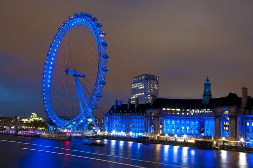 London Eye, London, Ferris Wheel, United Kingdom