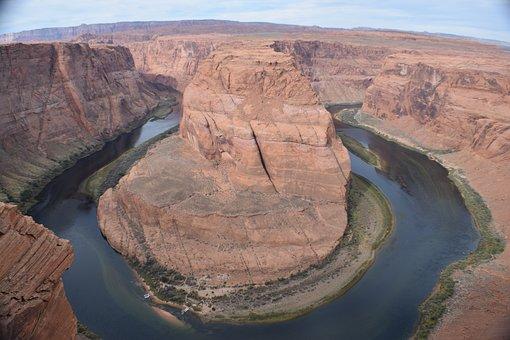 Horseshoe Bend, Grand Canyon, Usa, River