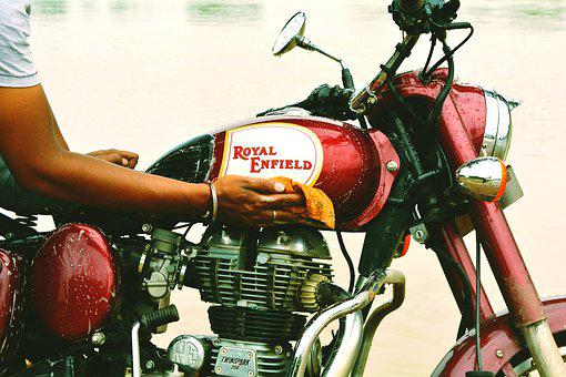 Bike, Royal, Enfield, Rider, Travel, Tourism, Red