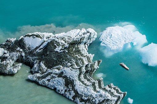 Aerial, Drone, Water, Yacht, Sea, Ocean, Cliffs, Shore
