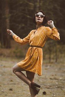 Girl, Lady, Woman, Female, Sexy, Legs, Dancing, Spirit