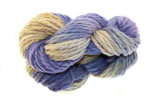 Wool, Sheep's Wool, Blauholz, Colored, Colorful