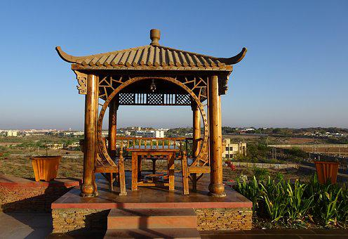 Gazebo, Traditional, Architecture, Pavilion, Wooden