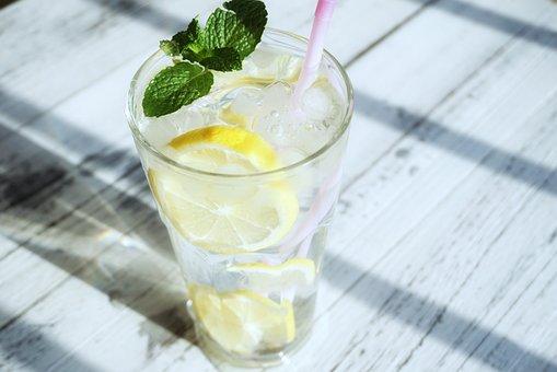 Transparent Color, Ice, Lemon