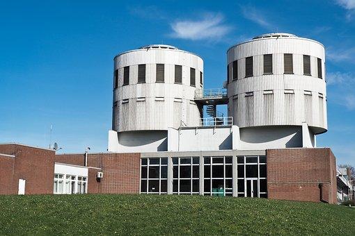 Architecture, Waterworks, Modern, Modern Architecture