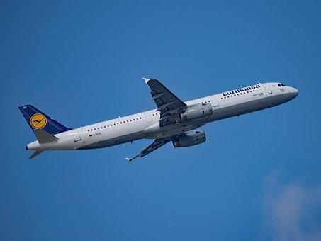Lufthansa, Aircraft, Germany, Airport, Rhine-main