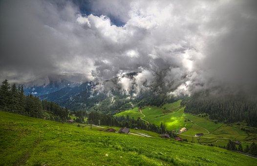 Zillertal, Alm, Alpine, Mountains, Austria