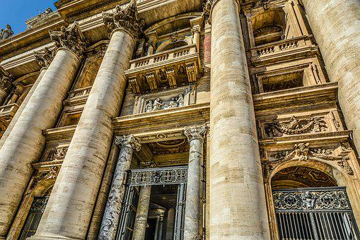 Rome, Architecture, St Peter, Vatican, Church, Catholic