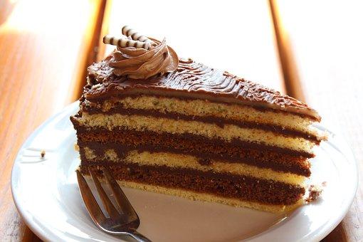 Cake, Chocolate, Nut Nougat Tart