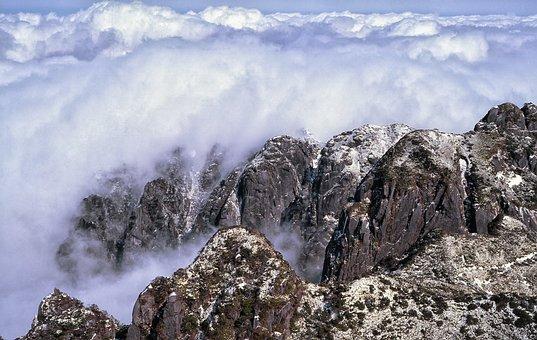 Mountain, Cloud, Yakushima Island
