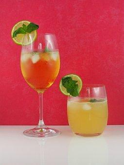 Hugo, Cocktail, Drink, Alcoholic, Highball