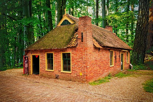 Farm, Old, Museum, House, Netherlands, Replica, Cottage