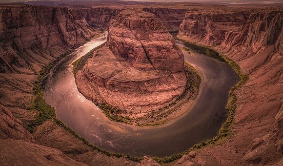 Horseshoe, Us, The National Park, Attraction