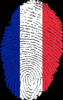 France, Flag, Fingerprint, Country, Pride, Identity
