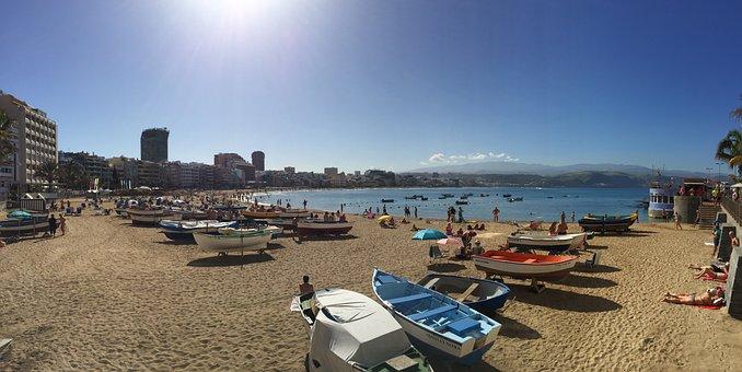 Playa De Las Canteras, Las Palmas De Gran Canaria