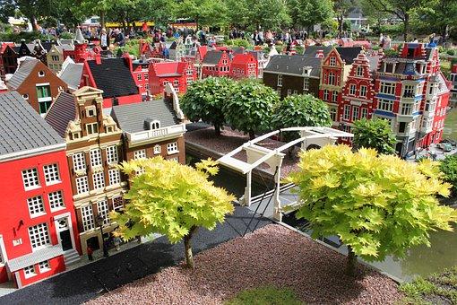Lego, Legoland, City, By, Dan Land, Miniature, Model