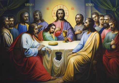 Icon, Lord's Supper, Religion, Jesus, Orthodox