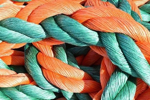 Rope, Plastic, Lace, Piola