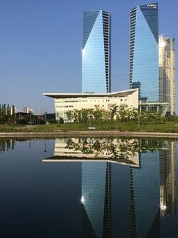 Incheon, Songdo, Posco Tower