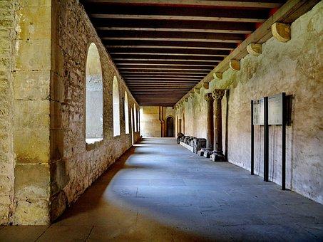 Schwäbisch Hall, Monastery, Comburg, Cloister