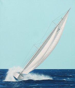 Vela, Boat, Boats, Sea, Sails, Regatta