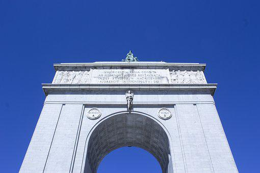 Arch Of Triumph, Victoria, Monument, Great, Stone