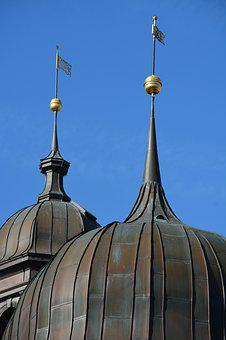 Architecture, Castle, Eutin, Roof, Great