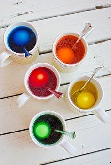 Easter Egg Coloring, Egg Dye, Easter, Color Eggs