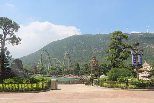 Ocean Kingdom, Chime-long, Zhuhai, The Roller Coaster