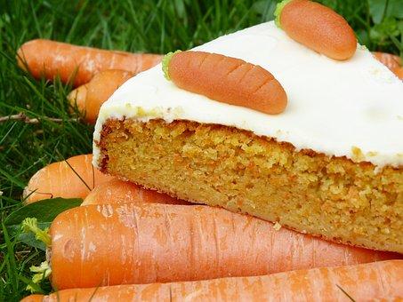 Carrot Cake, Rüblitorte, Rüblikuchen, Carrots