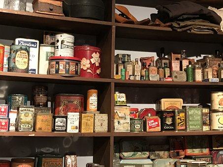 Store, Shelves, Retail, Shop, Market, Goods, Food