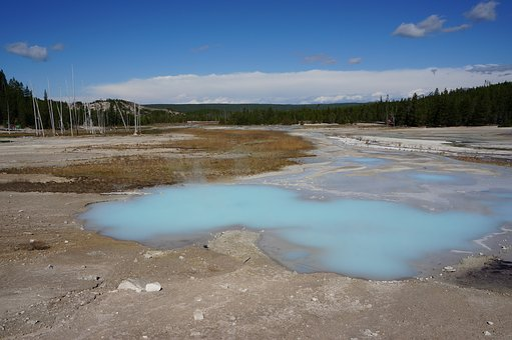 Yellowstone, Geezer, Usa