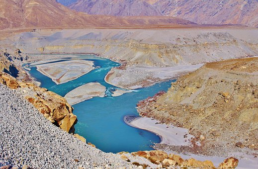 Rivers, Mountain, Nature, Water, Landscape, Travel