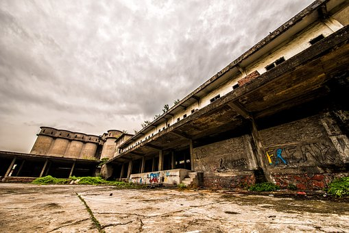 Workshop, Ruins, Wide Angle, Dongguan