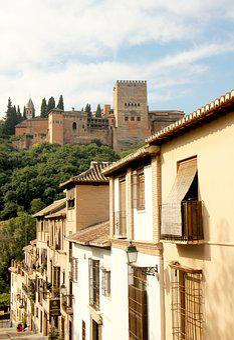Granada, City, Old, Town, Villa, Village, Ancient