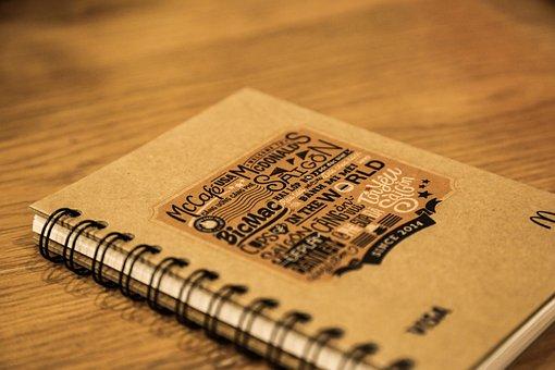 Book, Desk, Typography