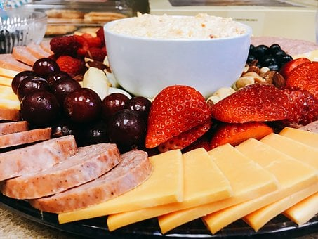 Fruit Tray, Catering, Cheese Tray, Strawberry, Grape