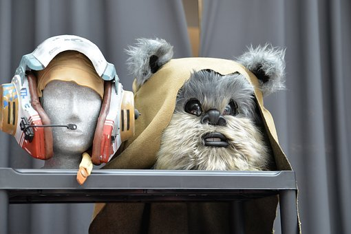Comic-con, Convention, Star Wars, Ewok, Costume