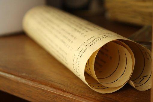 Parchment, Contract, Paper, Document, Old, Manuscript