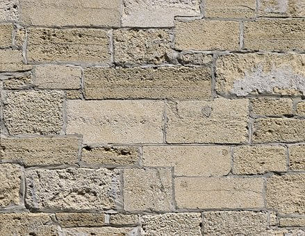 Stone Wall, Brick, Exterior, Background, Backdrop, Wall