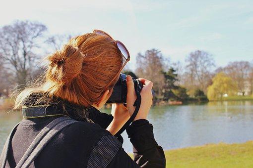 Photography, Girl, Woman, Hair, Nature, Photographer