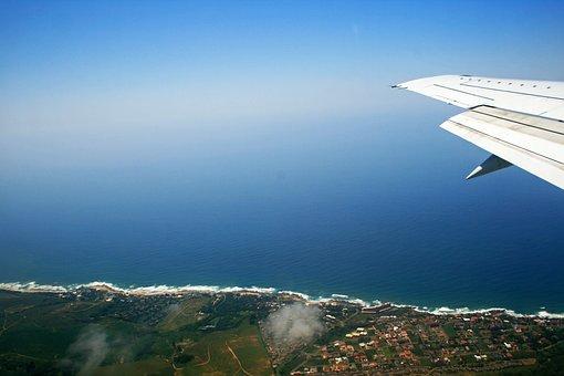 Coastal View, Sea, Blue, Coast, Shoreline, Shore, Land