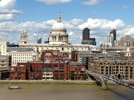 London, England, St Paul's Cathedral