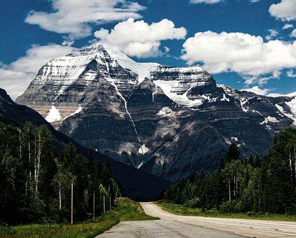 Mountain, Landscape, Trees, Sky, Nature, Park, Travel