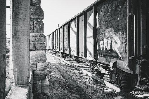 Wagon, Train, Compartment, Railway, Transport, Old