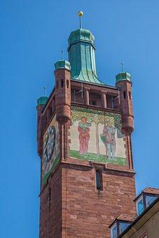 Pforzheim, Tower, District Office Storm