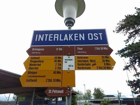 Interlaken, Switzerland, Directory, Lake Brienz, Lake