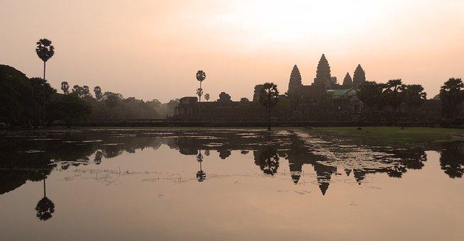Angkor Wat, Cambodia, Temple